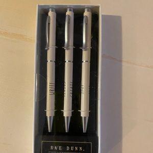 WRITE EDIT CREATE RAE DUNN NEW INK PENS